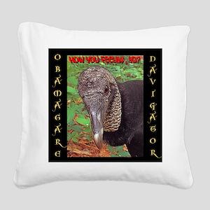 ObamaCare Navigator Square Canvas Pillow