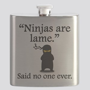 Said No One Ever: Ninjas Are Lame Flask