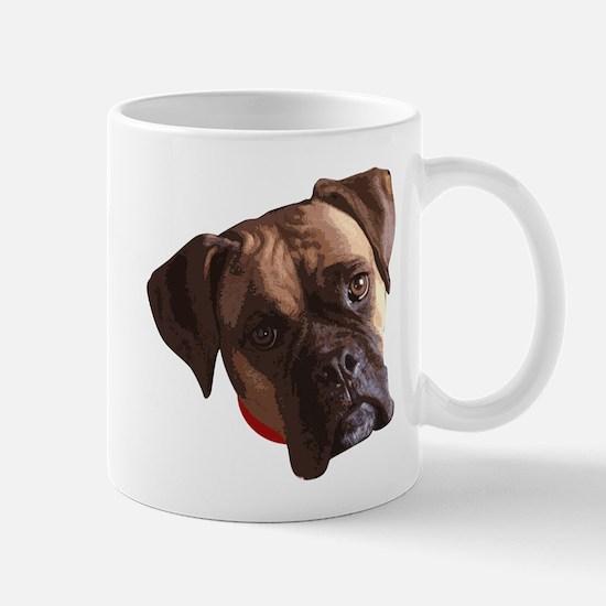 Boxer face 002 Mugs