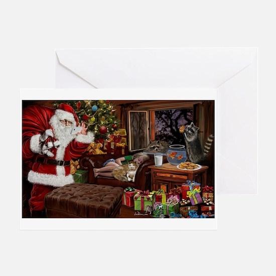 Snappy Santa Greeting Cards