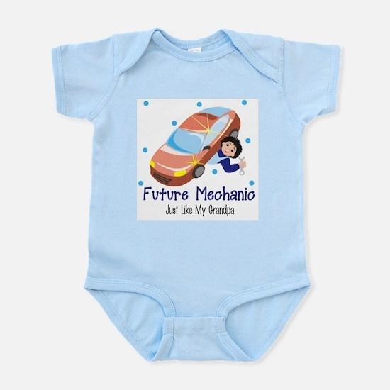 Future Mechanic Like Grandpa Body Suit