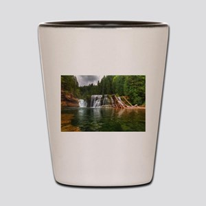 Lower Falls Lewis River Shot Glass