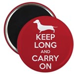 """Keep Long and Carry On 2.25"""" Magnet (10 pack)"""