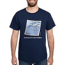 Dachshund Native Habitat Dark T-Shirt
