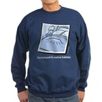 Dachshund Native Habitat Sweatshirt (dark)