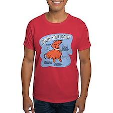 Know your dachshund Dark T-Shirt