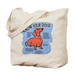 Know your dachshund Tote Bag