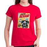 Amazing Dachshund Comics Women's Dark T-Shirt