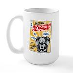 Amazing Dachshund Comics Large Mug