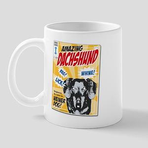 Amazing Dachshund Comics Mug