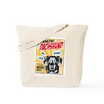 Amazing Dachshund Comics Tote Bag