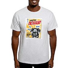 Amazing Dachshund Comics Light T-Shirt