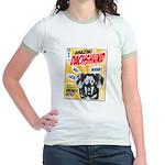 Amazing Dachshund Comics Jr. Ringer T-Shirt