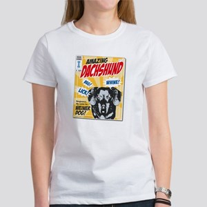 Amazing Dachshund Comics Women's T-Shirt