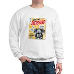 Amazing Dachshund Comics Sweatshirt