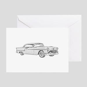 1954 car Greeting Card