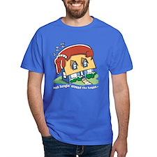 Dachshund hanging' around Dark T-Shirt