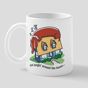 Dachshund hanging' around Mug