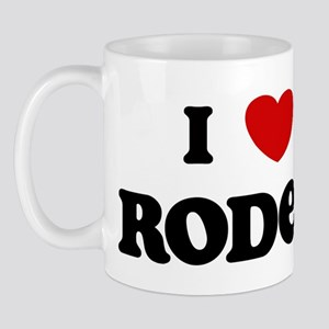 I Love Rodeo Mug