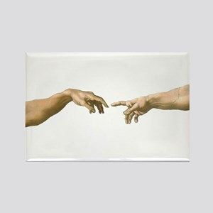 Michelangelo Creation of Adam Magnets