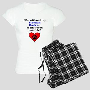 Life Without My Siberian Husky Pajamas