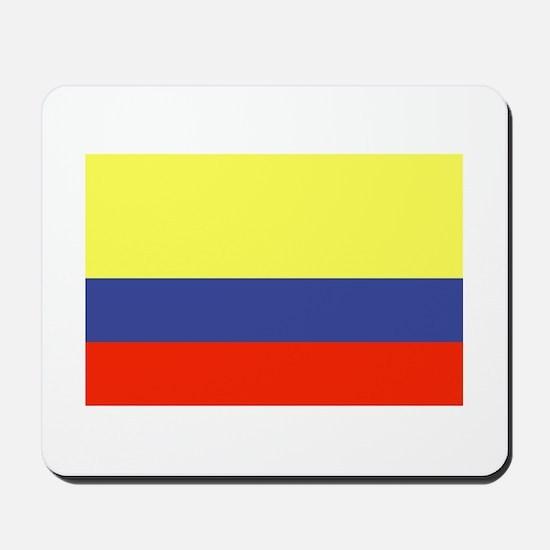 Colombian Flag Mousepad