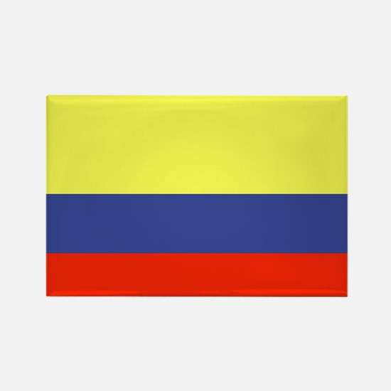 Colombian Flag Rectangle Magnet