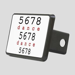 5678 dance Rectangular Hitch Cover