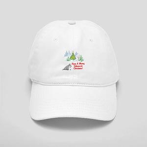 Christmas Miniature Schnauzer Cap