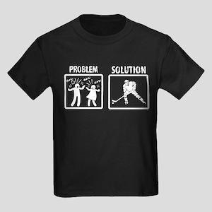 Problem Solution Ice Hockey T-Shirt