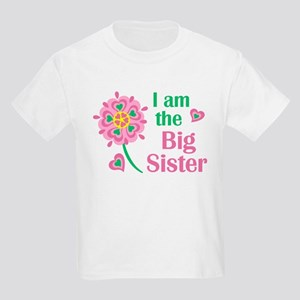 I am the Big Sister Kids Light T-Shirt
