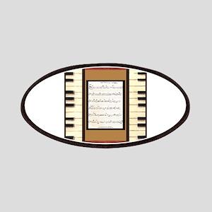 Piano Keys Sheet Music Song K. Hubler Patches