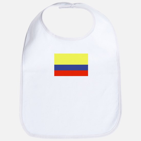 Colombian Flag 6 Bib