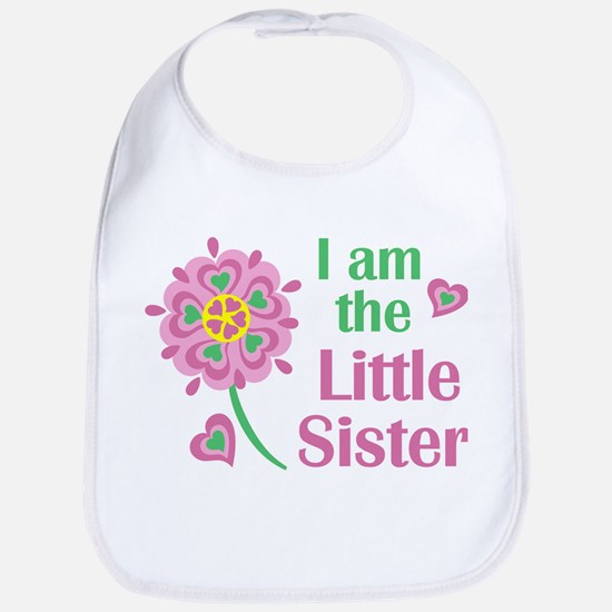 I am the Little Sister Bib