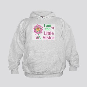 I am the Little Sister Kids Hoodie
