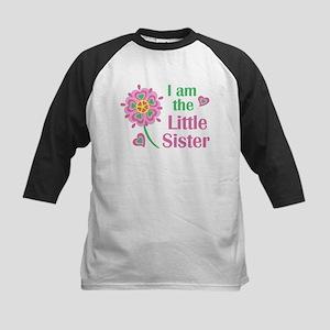 I am the Little Sister Kids Baseball Jersey