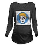 pirate skull colored copy.jpg Long Sleeve Maternit