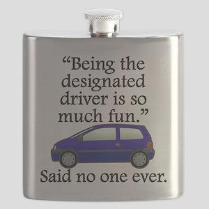Said No One Ever: Designated Driver Flask