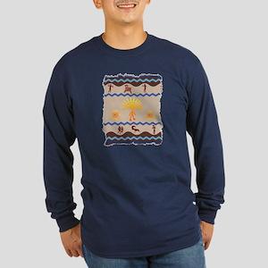 Spirit Path Rock Art Long Sleeve T-Shirt