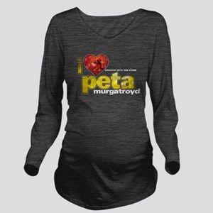 I Heart Peta Murgatroyd Long Sleeve Maternity T-Sh