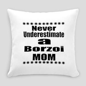 Borzoi Mom Everyday Pillow