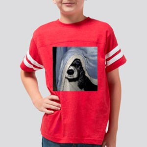 guilty pleasures 6x6 Youth Football Shirt