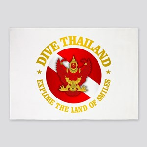 Thailand 5'x7'Area Rug
