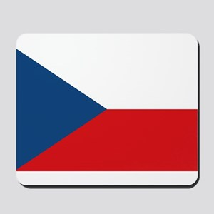 Flag of the Czech Republic Mousepad