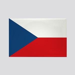 Flag of the Czech Republic Rectangle Magnet