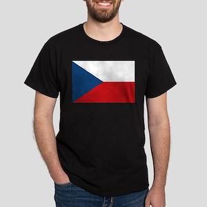 Flag of the Czech Republic Dark T-Shirt