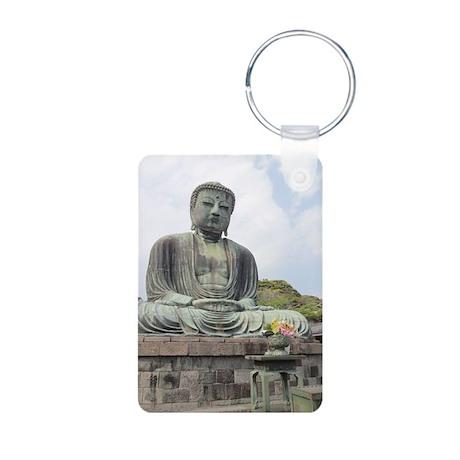Daibatsu Aluminum Photo Keychain