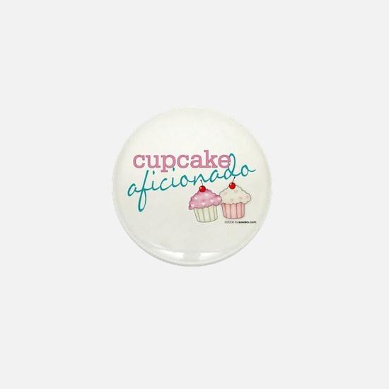 Cupcake Aficionado Mini Button