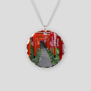 Sasukeinarijinja Necklace Circle Charm
