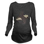 jump Long Sleeve Maternity T-Shirt